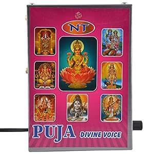 NT Puja 18 in 1 Divine Voice Sloka Chanting Mantra Box