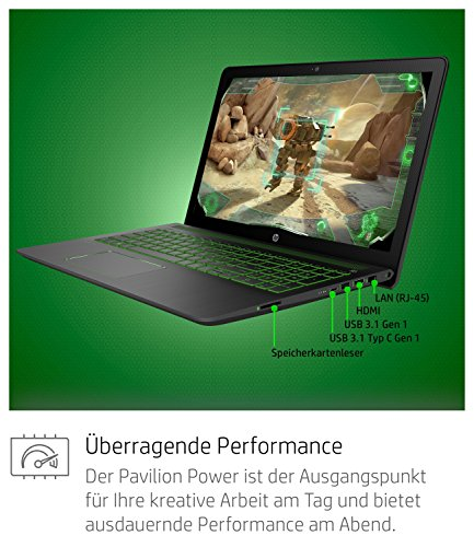 HP Pavilion capability 15 cb013ng 156 Zoll total HD Gaming Laptop Intel center i7 7700HQ 1TB HDD 256GB SSD 16GB RAM Nvidia GeForce GTX 1050Ti 4GB DDR5 Windows 10 dwelling 64 schwarz Notebooks
