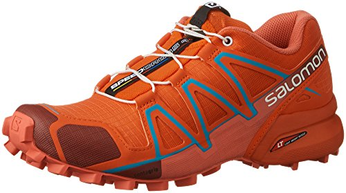 Salomon Speedcross 4 W, Scarpe da Trail Running Donna Red