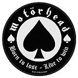 Motörhead Born To Lose Patch Standard