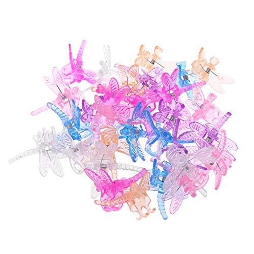 Lazder Orchideen-Clips, Libelle, für Orchideen, 30 Stück -