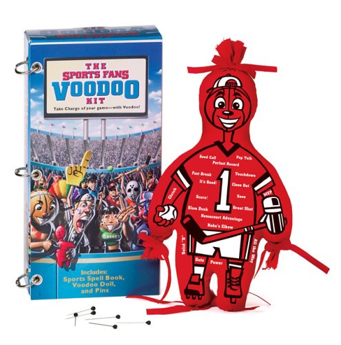 The Sports Fan Voodoo Kit: Take Charge of the Game, with Voodoo