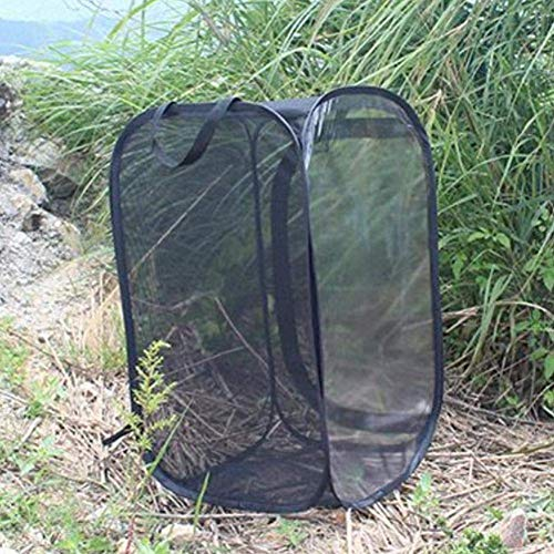 Arteki Habitat Insect and Butterfly Habitat Terrarium Pop-up Collapsible Butterfly Net Cage (Large: 35 * 35 * 60cm)