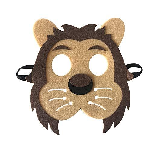 AHBPF Halloween Maske, Neue Tiermasken, Großhandel und Qualität Weihnachten Tier Maske, Lion Dads, Maske