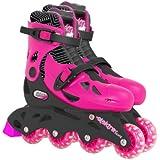 Elektra In Line Skates (Medium, Pink)