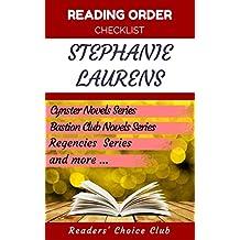 Reading order checklist: Stephanie Laurens - Series read order: Cynster Novels Series, Bastion Club Novels Series, Regencies  Series and more! (English Edition)