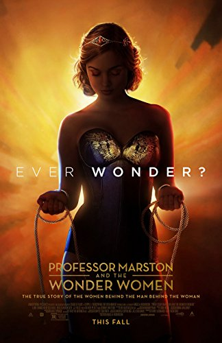 Poster Professor Marston The Wonder Women Movie 70 X 45 cm -