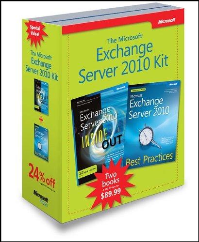 Microsoft Exchange Server 2010 Kit (Inside Out) by Tony Redmond (2011-03-21) par Tony Redmond;Siegfried Jagott