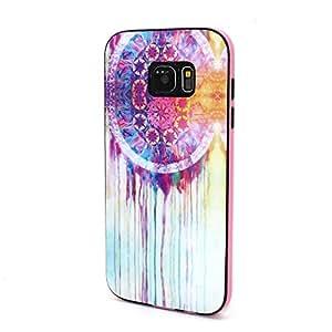 Defunct Watercolor Dreamcatcher Hybrid TPU Case for Samsung Galaxy S7 edge G935