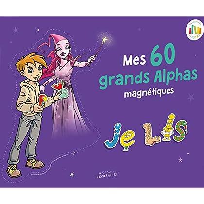 Alphas magnétiques pour tableau - nouvelle édition