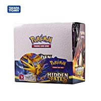 Game Collection Cards - 324pcs cards All series TCG: Sun & Moon Series Evolutions Box Collectible Trading Card Game Kids Toys (Hidden Fates)