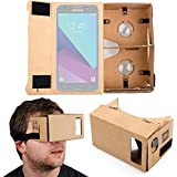 DURAGADGET Gafas de Realidad Virtual VR para Smarphones Smartphone Samsung Galaxy J3 , J5 (2017) / Huawei Y7 Prime / Archos Diamond Alpha , Gamma , Sense 55S , Sense 50X / ZTE nubia Z17 mini
