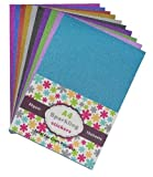 #6: set of 2. (self Adhesive) A4 Sparkling stickers 10 sheets for craft and Gift Packing