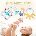 tumama 10PCS Baby Toys 3,6,12 Months Sensory Teething Rattle for Toddler Infant Newborn Girls Boys (10PCS)