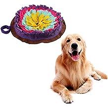 Bloomma Alfombrilla de alimentación Dog Snuffle, tapete de Entrenamiento, Manta de Nariz, Juguete