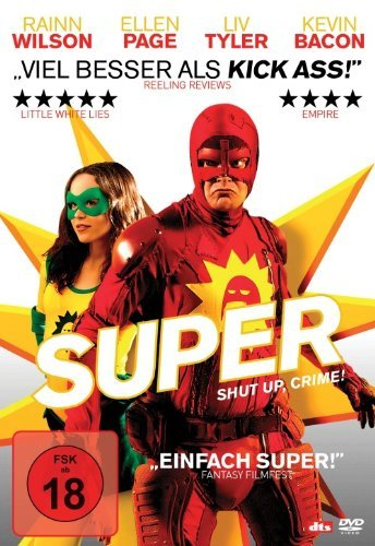 Super: Shut Up, Crime! by Rainn Wilson