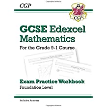 GCSE Maths Edexcel Exam Practice Workbook: Foundation - for the Grade 9-1 Course (with Answers)