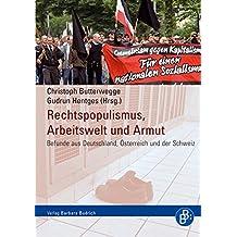 Rechtspopulismus, Arbeitswelt und Armut. Befunde aus Deutschland, Österreich und der Schweiz