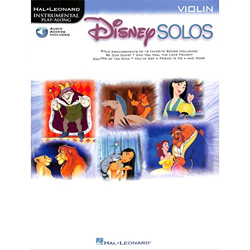 Disney Solos for Violin - Violine Noten [Musiknoten]