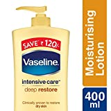 #7: Vaseline Intensive Care Deep Restore Body Lotion, 400ml (Save Rupees 120)