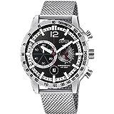 Lotus Herren Chronograph Quarz Uhr mit Edelstahl Armband 10137/3