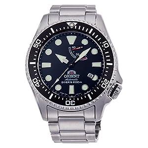 Orient Reloj Analógico para Hombre de Automático con Correa en Acero Inoxidable RA-EL0001B00B