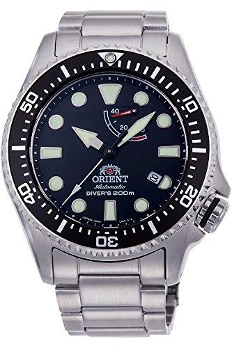 Orient Herren Analog Automatik Uhr mit Edelstahl Armband RA-EL0001B00B Orient-sammlung