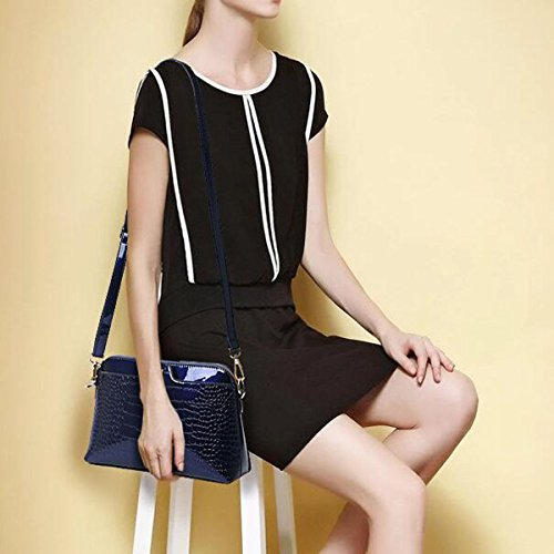 Pacchetto Da Donna Borsa Alla Moda Borsa Diagonale Spalla, Blu Blu