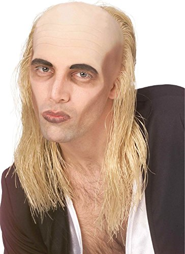 Mens Riff Raff Rocky Horror Show Blonde/Bald Fancy Dress Costume Outfit Wig (One Size)