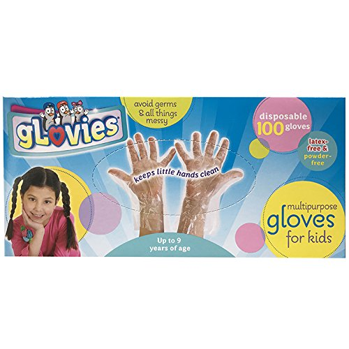 guanti lattice bambini gLovies Guanti monouso resistenti e privi di lattice per tutti i tipi di pelle