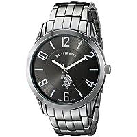 U.S. Polo Assn. Classic Men's USC80038 Gunmetal-Tone Dial Watch