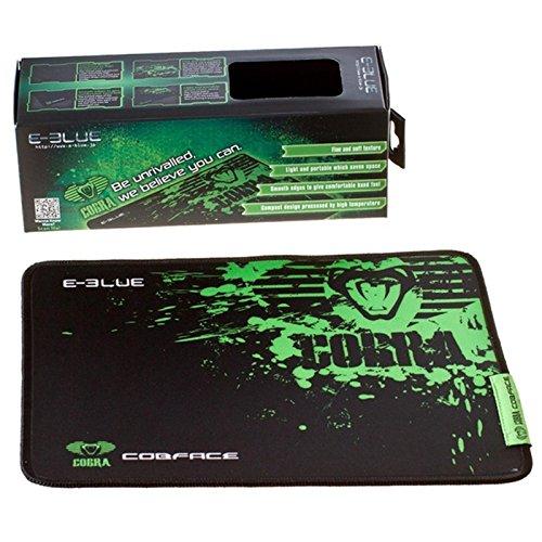 Weiche Hand Mit Tinte (Cobra EMP005 Gaming Mauspad / Feine und Weiche Textur / 280x225mm / Grün/Schwarz / Mausunterlage für PC, Apple, Windows, iOS / iCHOOSE)