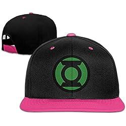 ajustable Gorra Hip-hop Sombrero y Gorra linterna verde Logo