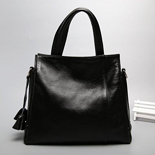 Pelle Delle Donne Faux Borse Messenger Bag Borse Delle Signore Multicolore Black