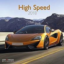 High Speed 2018 - Sportautos, Autokalender, Motorsport, - 30 x 30 cm