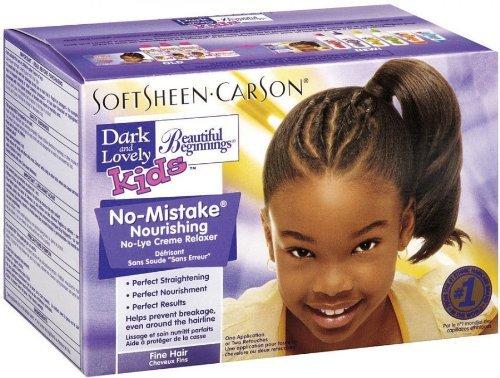 Relaxer / Glättungscreme Dark And Lovely Kids No-Mistake Nourishing Fine Hair No-Lye