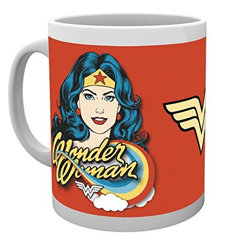 DC Comics Wonder Woman, Gesicht, Tasse, Verschiedene (Woman Toms Wonder)