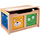 Four Friends Natural Wood Surround Toy Chest