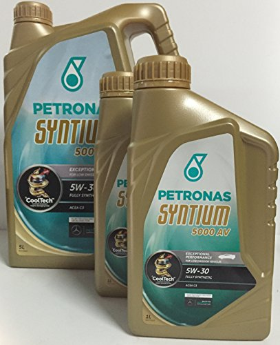 petronas-olio-motore-syntium-5000-av-5w-30-lts-7-5-x-2-x-1-1-lt-lt