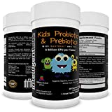 ? Best 6 Billion CFU Kids / Children's Probiotics with Prebiotics ? Best Kids Probiotics on Amazon ? With Prebiotics (Sunfiber® & Fos) for 10x More Effectiveness ? One A Day Chewable Probiotic ? Kids Will Love The Great Taste ? 2 Months Supply Per Bottle