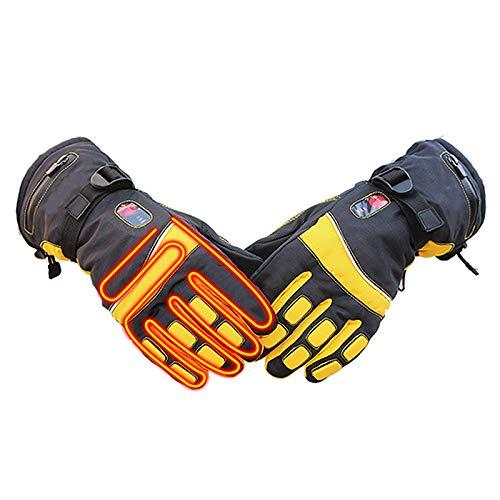 YXRPK Guanti Riscaldati Batteria Ricaricabile, Camminare nella Stagione Fredda, Andare in Bicicletta, Andare in Moto, Pescare, Sciare, Rimuovere La Nev