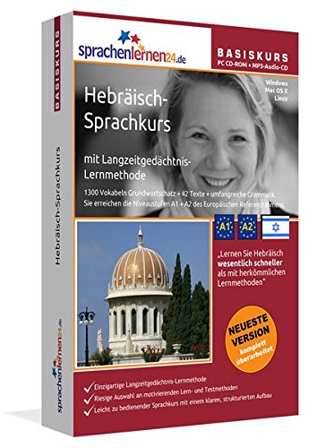 Sprachenlernen24.de Hebräisch-Basis-Sprachkurs: PC CD-ROM für Windows/Linux/Mac OS X + MP3-Audio-CD für MP3-Player. Hebräisch lernen für Anfänger