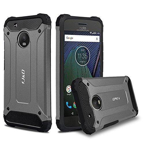 """J&D Kompatibel für Moto G5 Plus (5.2"""") Hülle, [ArmorBox] [Doppelschicht] [Heavy-Duty-Schutz] Hybrid Stoßfest Schutzhülle für Motorola Moto G5 Plus (5.2"""") - [Nicht für Moto G5 5.0"""
