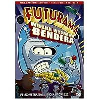 Futurama: Bender's Big Score [Region 2] (English audio) by Billy West