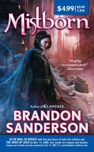 Book cover for Mistborn