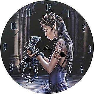 Ars-Bavaria Wanduhr Water Dragon - Anne Stokes - Deko Uhr