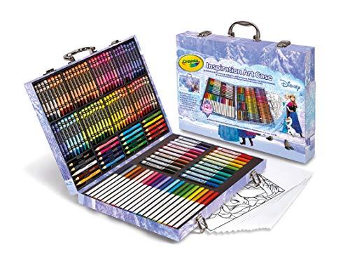 Crayola 04-2539 - Maletín del Artista Frozen 140 Piezas
