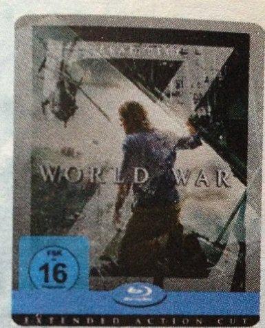 World War Z (Extended Action Cut) (Limited Edition Steelbook) [Blu-ray 2D]