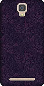 The Racoon Lean printed designer hard back mobile phone case cover for Gionee M5 Plus. (dark love)