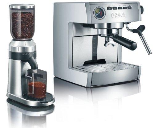 Graef ES 85 SET - Cafetera + Molinillo CM 80